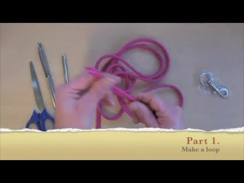 How To make a Dog Leash in 5 min with PP Multi Cord (multilijn)