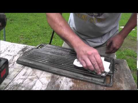 Cast Iron Griddle Makover