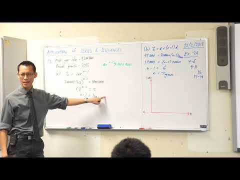 Introduction to Financial Series (Example 2 of 2: Growing sales)