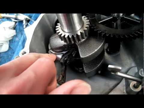 How To Convert A Vertical Shaft (Lawnmower) Engine To Horizontal For A Go Kart