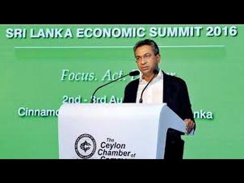 Mr. Rajan Anandan, MD of Google India speaking at the Sri Lanka Economic Summit 2016