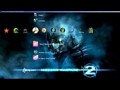 ps3 modern warfare2 theme free download