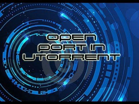 How to open port in uTorrent/BitTorrent in Windows XP