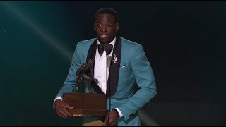 NBA Defensive Player Of The Year Draymond Green (Full Speech) | NBA Awards Show 2017