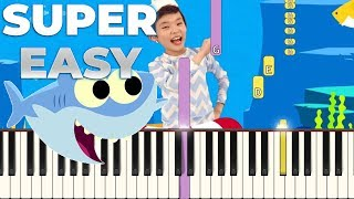 1:26) Baby Shark Easy Piano Tutorial Video - PlayKindle org