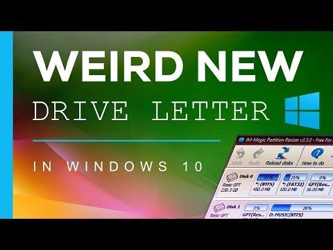 Random New Drive Letter Appeared in Windows
