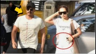Malaika Arora PREGNANT With Arjun Kapoor's Baby Before MARRIAGE Was Spotted At A Hospital