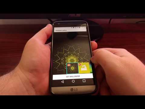 LG G5 Lock Screen Wallpaper