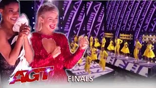 Download Ndlovu Choir Africa: Simon Calls This The BEST Ending To Finals EVER! | America's Got Talent 2019 Video