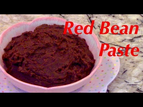 How to Make Sweet Red Bean Paste