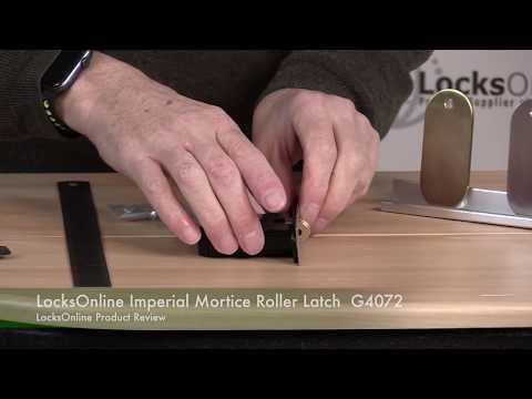 LocksOnline Imperial Mortice Roller Latch G4072   LocksOnline Product Review