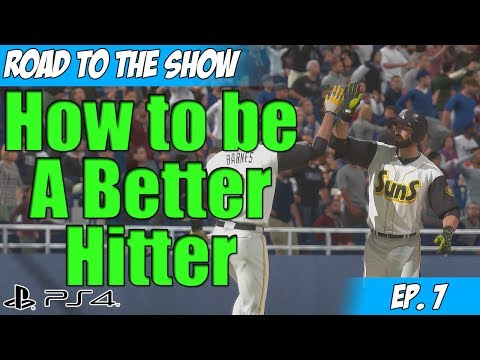 MLB 14: The Show on PS4 - RTTS with Kevin Bull - Be A Better Hitter Ep. 7