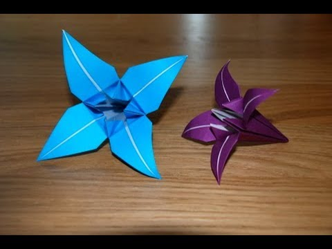 how to make a paper Lily ?