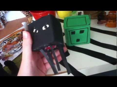 My Minecraft Craft - Cardboard minecraft characters