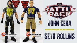WWE FIGURE INSIDER: Seth Rollins & John Cena - WWE Battle Pack Series 43.5 Figures By Mattel