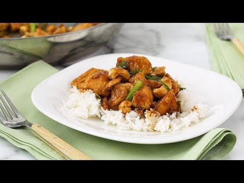 Cashew Chicken- Martha Stewart