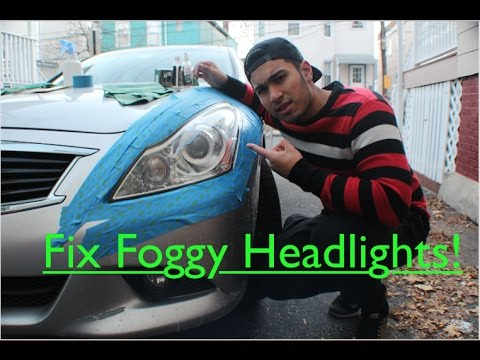 How to restore scratched/foggy/hazy headlights permanently!! (Infiniti G37x) | Episode 5