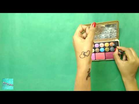 How to make DIY temporary Tattoos Love. ||Art n you-11||