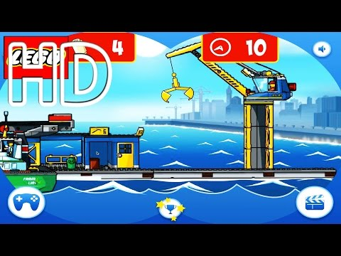 Lego Harbour Game Full HD