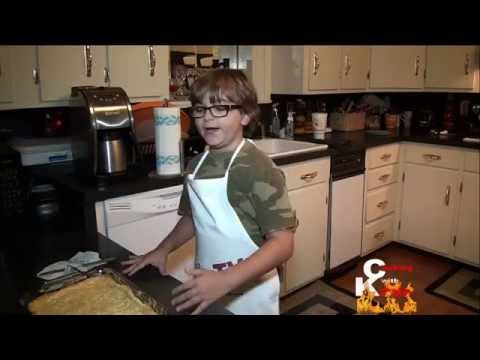 Cooking With Kade   Chess Squares Dessert Recipe on the Cajun TV Network