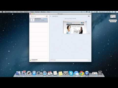 Send files from Mac to iPhone via iMessage