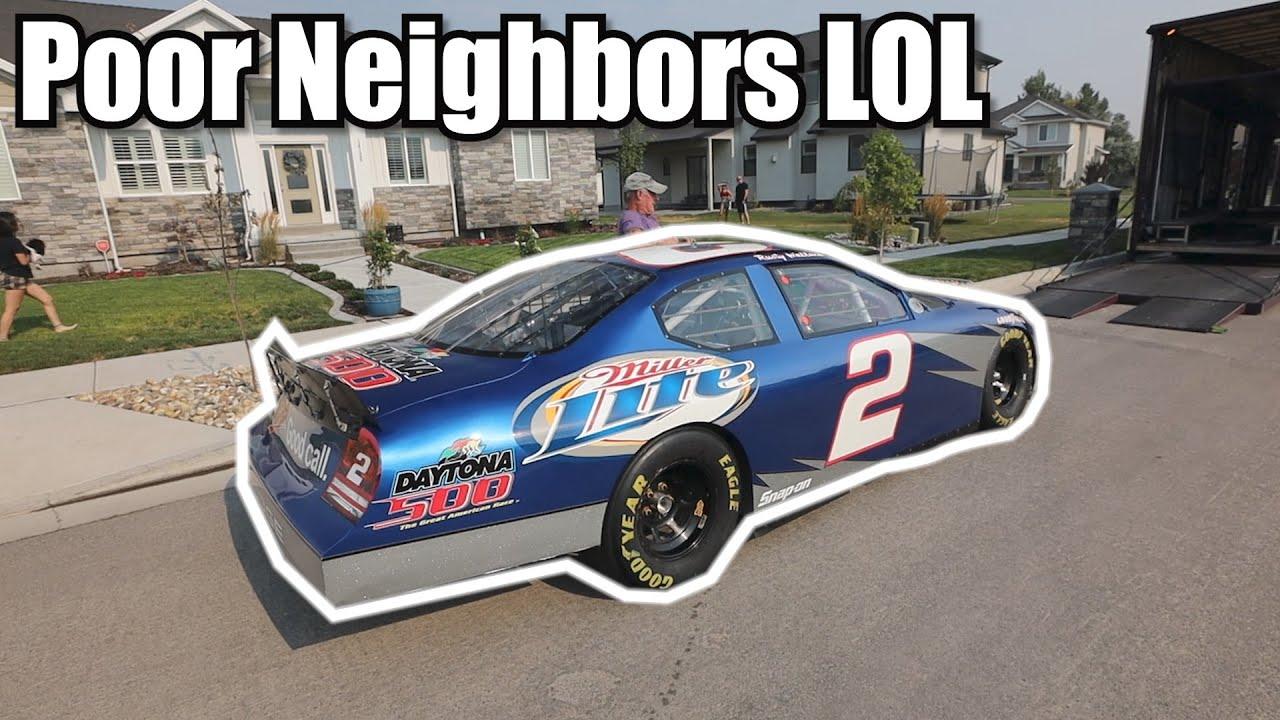 I got a NASCAR!