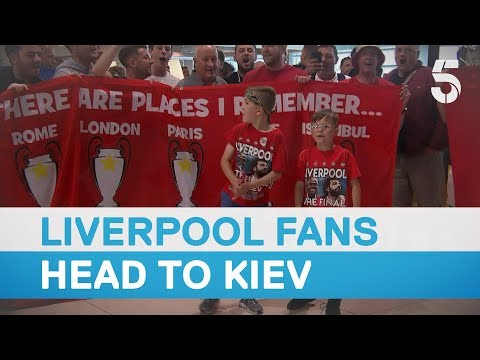 Flight cancellations leave Liverpool fans stranded ahead of Champions League final - 5 News