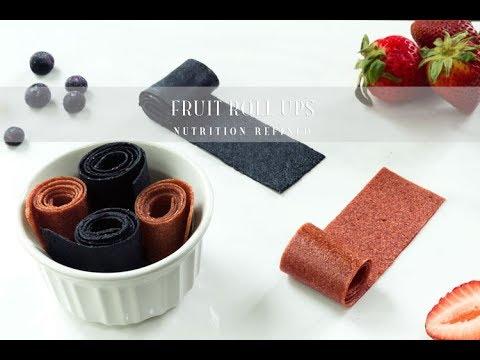 Fruit Roll Ups (Fruit Leather) | Vegan, Paleo