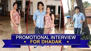 FULL INTERVIEW: 'Dhadak' Co-stars Janhvi Kapoor & Ishaan Khattar