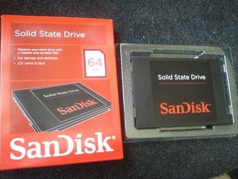 SanDisk SDSSDP-064G-G25 64GB (REVIEW & TEST)