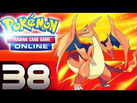 Charizard EX/Pyroar in Action! - Pokémon Trading Card Game Online #38