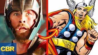 10 MCU Superhero Costumes That Look Nothing Like The Original