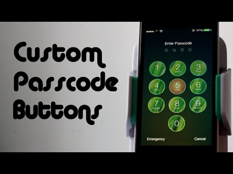 Custom Passcode Images & Colors for iPhone, iPod Touch