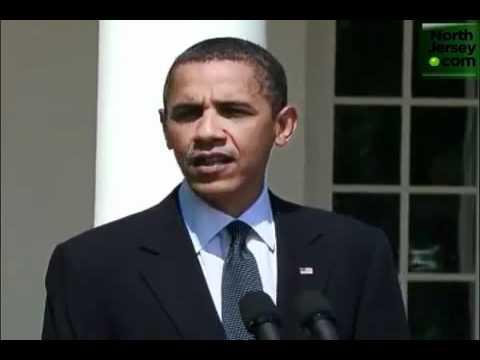 Obama Addresses NJ Unemployment Situation