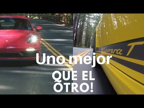 Test Drive Porsche 911 Carrera T 2018 y Porsche 718 Cayman GTS 2018 en Napa Valley