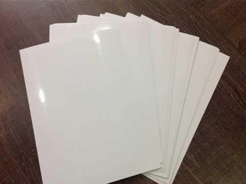 high glossy inkjet printer sticker paper for sale