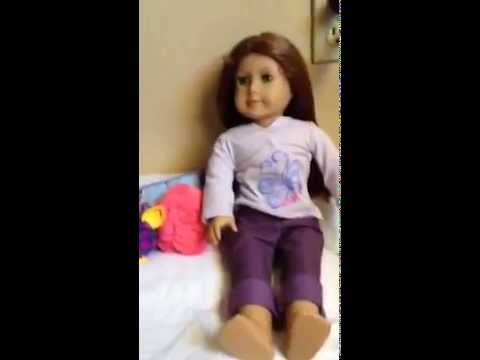 DIY American Girl Doll Bed no sew no glue no boxes EASY tutorial