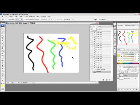 Adobe Photoshop CS3: Essentials:  UNDO OPTIONS & THE HISTORY PALETTE :  Using the History Palette
