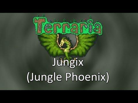 Terraria: Reborn Mod — Jungix (Jungle Phoenix)!