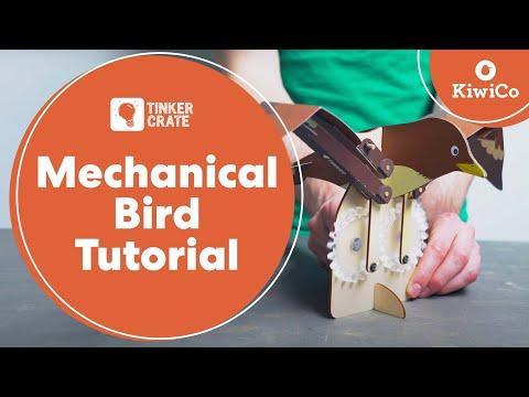 Build a Mechanical Bird - Tinker Crate Project
