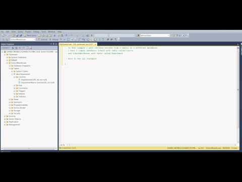MS SQL 2012 - How to retrieve records from 2 tables in 2 different databases