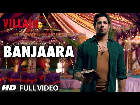 Banjaara   Ek Villain   Full VIDEO Song   ft Sidharth