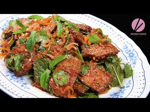 Thai Beef Salad, Nam Tok