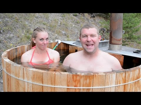 Why We BUILT a HOT TUB & Deck BEFORE A HOUSE