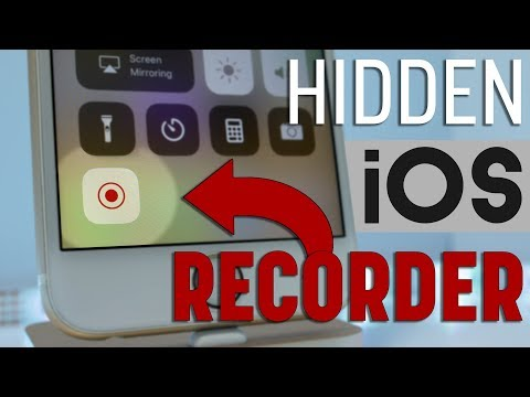 How to Record your Screen in iOS 11!