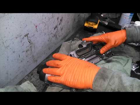 Oil cooler replacement 2012 Chevrolet Cruze oil leak gasket replacement install or replace