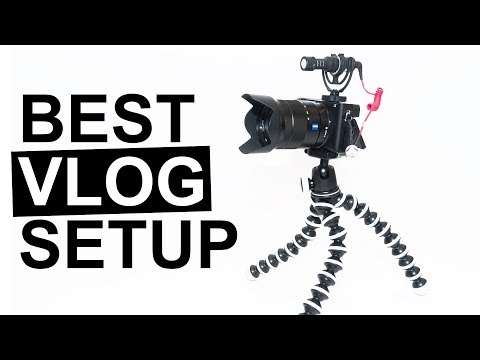 Best VLOGGING set up for the sony a6500!