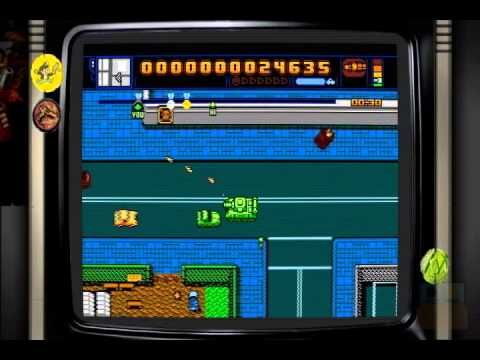 Gaming Smashup - Let's Play Retro City Rampage - Tank Insane-ity