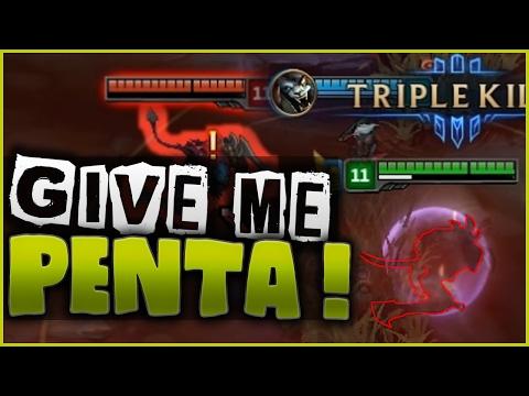 GIVE ME MY PENTA !! - Rengar Assassin Mode PBE Highlights