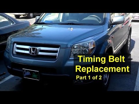 Honda Pilot timing belt and water pump replacement Part 1 of 2 - VOTD